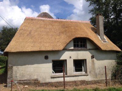 RJ Matravers Thatched house