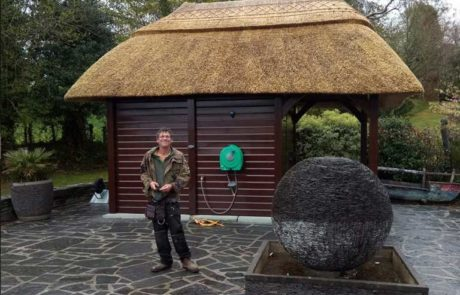 RJ Matravers Outbuilding with Thatch Roof , Ireland